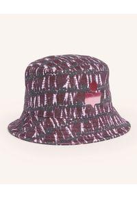 ISABEL MARANT - Bawełniany kapelusz z logo Haley. Kolor: różowy, fioletowy, wielokolorowy. Materiał: bawełna. Wzór: aplikacja. Sezon: lato. Styl: wakacyjny