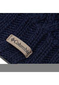 Niebieska czapka zimowa columbia