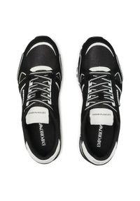 Emporio Armani Sneakersy X4X544 XM727 N595 Czarny. Kolor: czarny