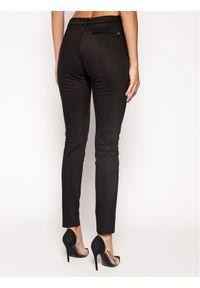 Czarne spodnie materiałowe TOMMY HILFIGER