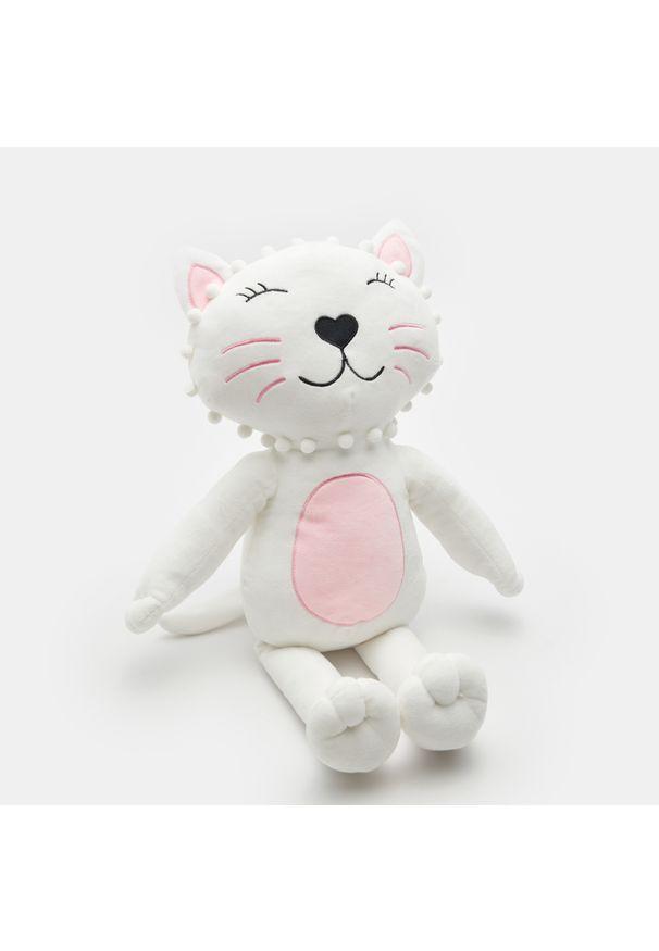Sinsay - Przytulanka kotek - Różowy. Kolor: różowy
