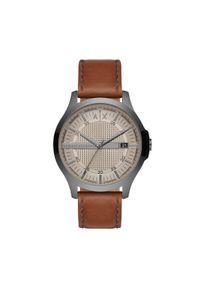 Brązowy zegarek Armani Exchange #3