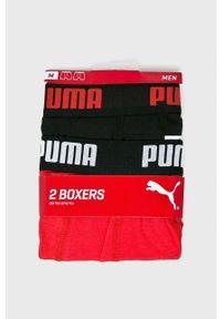Puma - Bokserki (2-Pack). Kolor: czarny