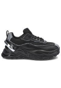 Cross Jeans - Sneakersy CROSS JEANS II2R4018C Czarny. Kolor: czarny