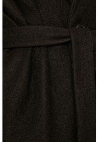 Czarny płaszcz Miss Sixty na co dzień, casualowy, bez kaptura