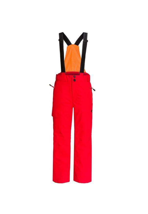 Czerwone spodnie narciarskie Descente