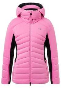 KJUS Kurtka damska Duana frozen pink black #1