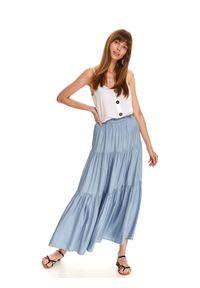 Niebieska spódnica TOP SECRET długa