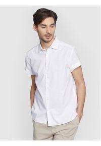 Vistula Koszula Greg Short XT1078 Biały Slim Fit. Kolor: biały