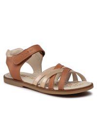 Brązowe sandały Lasocki Kids