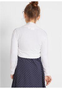 Biały sweter bonprix #5