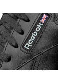Czarne sneakersy Reebok na co dzień, z cholewką