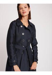Niebieski płaszcz przejściowy Morgan De Toi