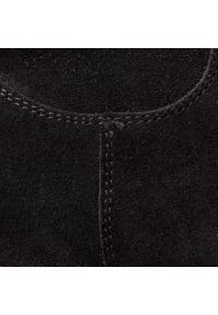Czarny kozaki Baldaccini z cholewką, z cholewką przed kolano