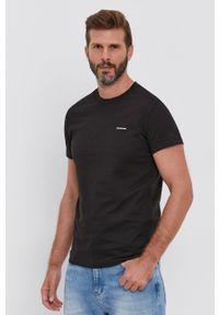 Calvin Klein Jeans - T-shirt (2-pack). Okazja: na co dzień. Kolor: zielony. Materiał: dzianina. Wzór: gładki. Styl: casual