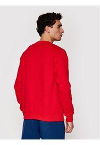 Prosto. - PROSTO. Bluza KLASYK Crewneck Drift 1011 Czerwony Regular Fit. Kolor: czerwony