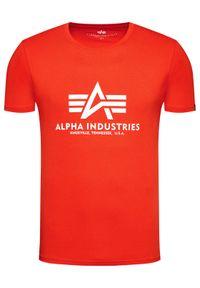 Czerwony t-shirt Alpha Industries