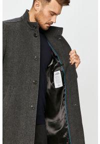 Szary płaszcz Marc O'Polo polo