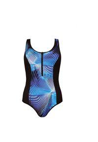 Stój kąpielowy damski jednoczęściowy Feba F83. Materiał: elastan, poliester, materiał, poliamid