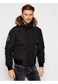 Czarna kurtka zimowa Superdry
