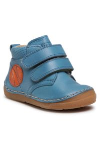 Froddo - Trzewiki FRODDO - G2130222 M Jeans. Kolor: niebieski. Materiał: skóra. Sezon: zima, jesień