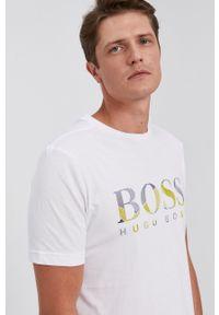 BOSS - Boss - T-shirt bawełniany Boss Athleisure (2-pack). Okazja: na co dzień. Kolor: biały. Materiał: bawełna. Styl: casual