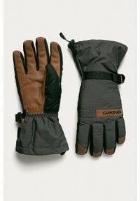 Dakine - Rękawiczki. Kolor: szary. Materiał: materiał