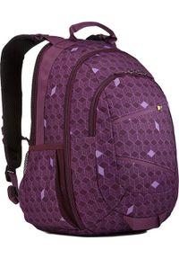 Fioletowy plecak na laptopa CASE LOGIC