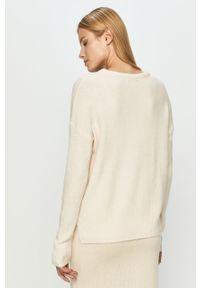 Różowy sweter Haily's casualowy, z długim rękawem