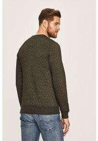 Zielona bluza nierozpinana Blend casualowa, na co dzień