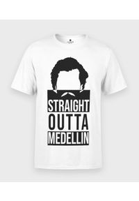 MegaKoszulki - Koszulka męska Straight outta medellin. Materiał: bawełna