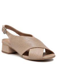 Beżowe sandały Edeo