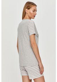 Szara piżama Answear Lab krótka