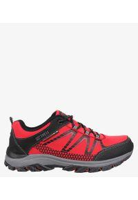 Czerwone buty trekkingowe Casu