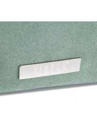 Zielona torebka klasyczna Simple zamszowa, klasyczna