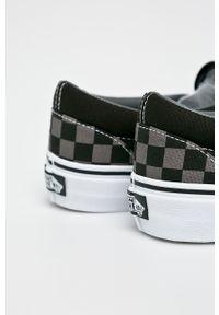Vans - Tenisówki Classic Slip-On. Nosek buta: okrągły. Zapięcie: bez zapięcia. Kolor: szary