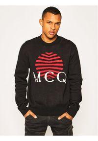 Czarny sweter klasyczny MCQ Alexander McQueen