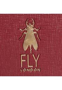Fly London - Torebka FLY LONDON - Anicfly P974695002 Dk.Red/Blue. Kolor: czerwony. Materiał: skórzane