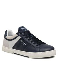 Pepe Jeans Sneakersy Rodney Sport PMS30709 Granatowy. Kolor: niebieski. Styl: sportowy