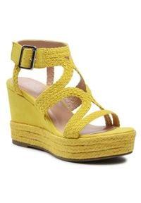 Żółte sandały Bullboxer