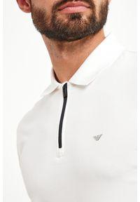 Koszulka polo Emporio Armani w kolorowe wzory, sportowa, polo