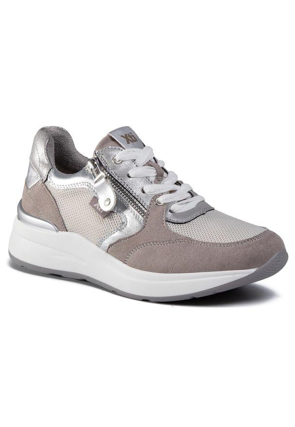 Szare buty sportowe Xti z cholewką