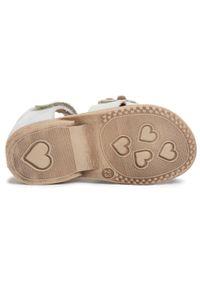 Białe sandały Froddo z aplikacjami, na lato