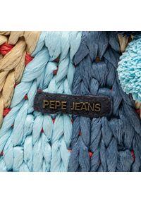 Niebieska torebka klasyczna Pepe Jeans klasyczna