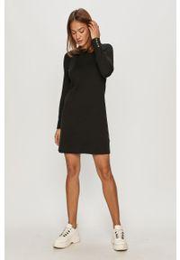 Czarna sukienka TOMMY HILFIGER melanż, casualowa