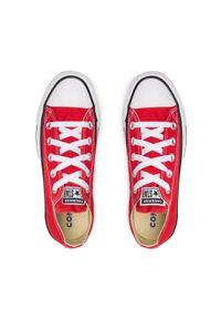 Converse - Trampki CONVERSE - All Star Ox M9696C Red. Kolor: czerwony. Materiał: materiał. Szerokość cholewki: normalna. Model: Converse All Star