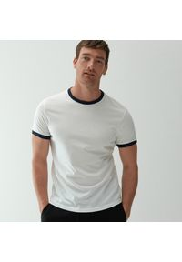 Biały t-shirt Reserved