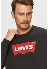 Szara bluza nierozpinana Levi's® na co dzień, bez kaptura