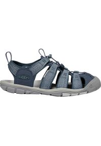 Niebieskie sandały sportowe keen w kolorowe wzory