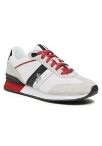 U.S. Polo Assn - Sneakersy U.S. POLO ASSN. - Austen 2 FERRY4122S0/TS1 Whi. Okazja: na co dzień. Kolor: biały. Materiał: skóra, materiał, zamsz. Szerokość cholewki: normalna. Styl: sportowy, casual